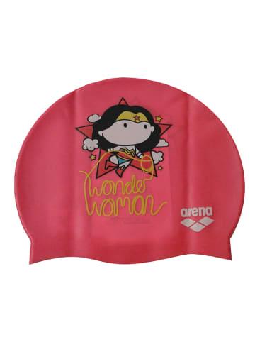 """Arena Czepek pływacki """"WB"""" w kolorze różowym"""