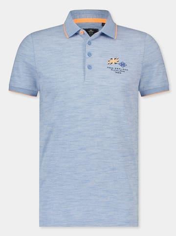 "NEW ZEALAND AUCKLAND Poloshirt ""Moramuka"" blauw"