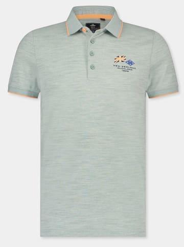 """NEW ZEALAND AUCKLAND Poloshirt """"Moramuka"""" lichtgroen"""