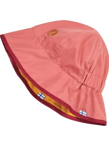 Finkid Dwustronny kapelusz w kolorze różowo-żółtym