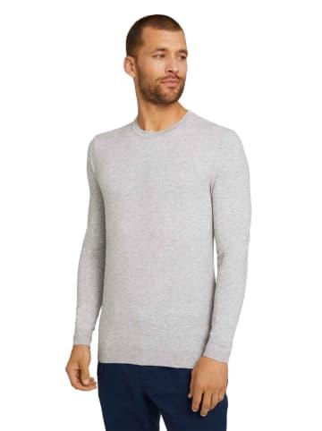 Tom Tailor Sweter w kolorze szarym