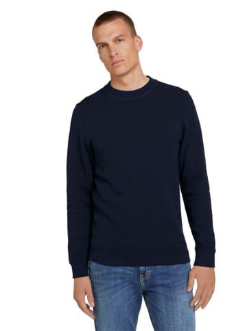 Tom Tailor Sweatshirt in Dunkelblau