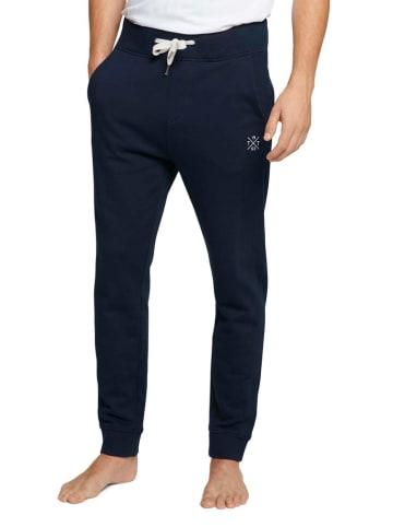 Tom Tailor Sweatbroek donkerblauw