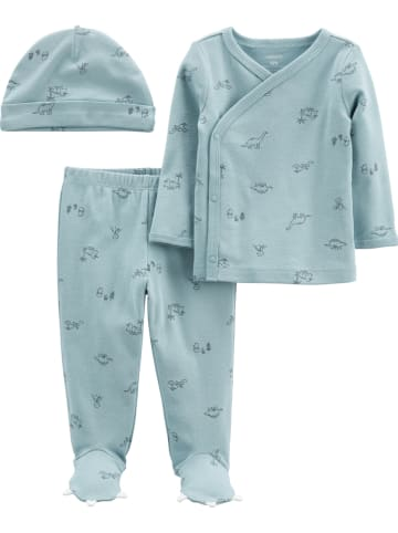 Carter's 3tlg. Outfit in Hellblau