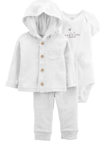 Carter's 3tlg. Outfit in Grau