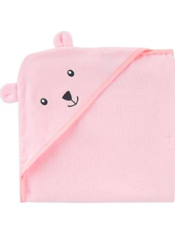Carter's Ręcznik w kolorze różowym z kapturem - 76,2 x 76,2 cm