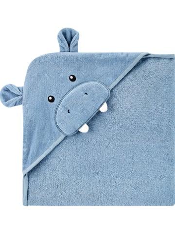 Carter's Ręcznik w kolorze niebieskim z kapturem - 76,2 x 76,2 cm