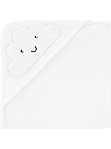 Carter's Ręcznik w kolorze białym z kapturem - 76,2 x 76,2 cm