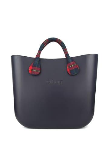 O Bag Torebka w kolorze granatowo-czerwonym - (S)39 x (W)31 x (G)14 cm