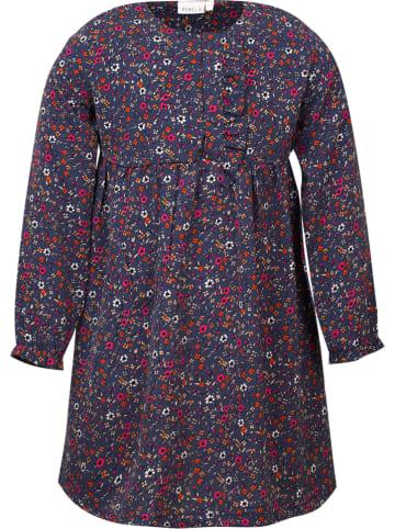 Mini Rebels Sukienka w kolorze granatowym ze wzorem
