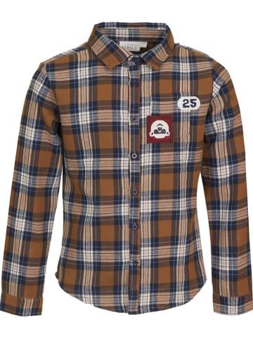 Mini Rebels Koszulka w kolorze beżowo-jasnobrązowym