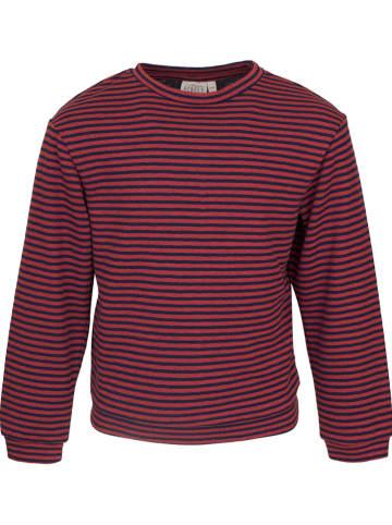 Mini Rebels Sweatshirt in Dunkelblau/ Rot
