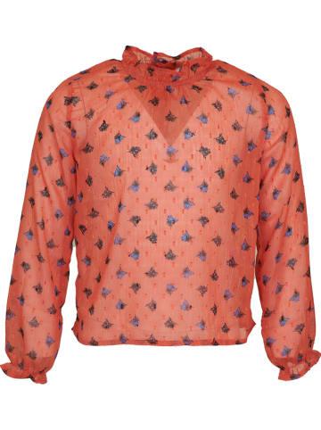 Mini Rebels Bluzka w kolorze różowym