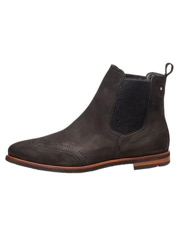 LLOYD Leder-Chelsea-Boots in Schwarz
