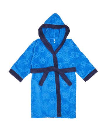 United Colors of Benetton Szlafrok w kolorze niebieskim
