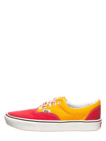 """Vans Sneakersy """"Comfy Cush Era"""" w kolorze czerwono-pomarańczowym"""