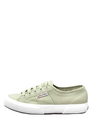 "Superga Sneakers ""Cotu"" groen"