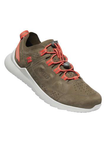 """Keen Skórzane buty turystyczne """"Highland"""" w kolorze khaki"""