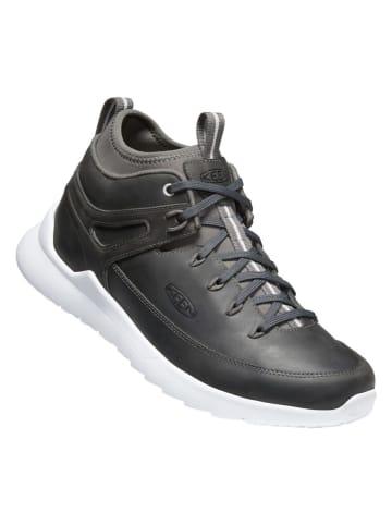 """Keen Leren sneakers """"Highland"""" zwart"""