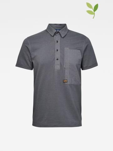 G-Star Poloshirt in Grau