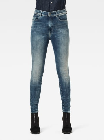 G-Star Spijkerbroek - skinny fit - blauw