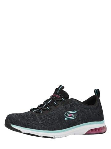 """Skechers Sneakers """"Skech-Air"""" zwart"""