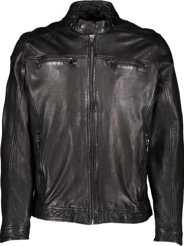 Otto Kern Skórzana kurtka w kolorze czarnym