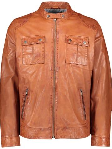 "Pioneer Leren jas ""Pio"" lichtbruin"