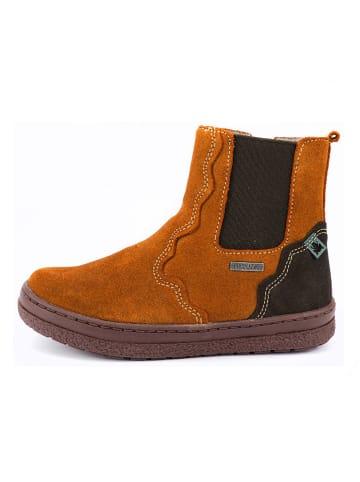 El Naturalista Leder-Boots in Hellbraun