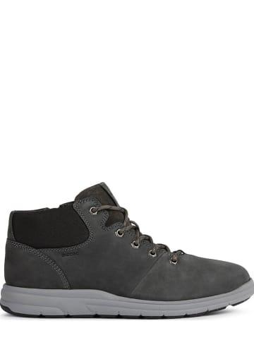 """Geox Leren boots """"Hallson"""" antraciet"""
