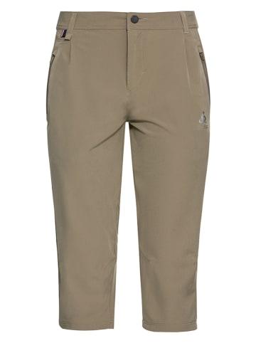 """Odlo Spodnie funkcyjne """"Koya"""" w kolorze jasnobrązowym"""