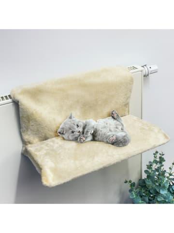 Profiline Katzen-Heizkörperliege in Beige - (B)46 x (H)24,5 x (T)31 cm