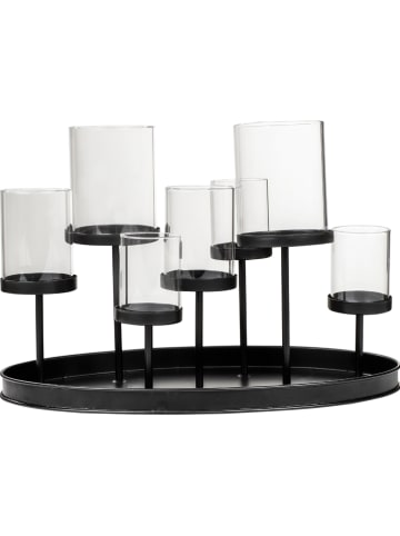 Profiline Kandelaar zwart - (B)34,5 x (H)23 x (D)20 cm