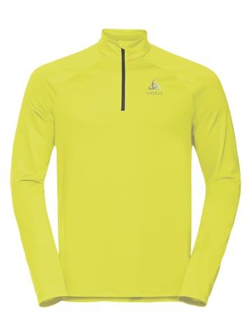"""Odlo Koszulka funkcyjna """"Essentials Run"""" w kolorze żółtym"""