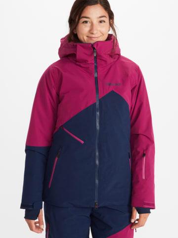 "Marmot Ski-/ Snowboardjacke ""Pace"" in Dunkelblau/ Beere"
