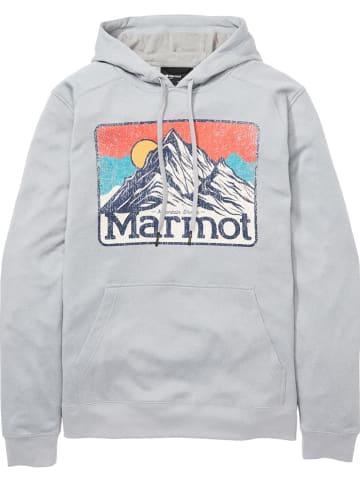 """Marmot Bluza """"Mountain Peaks"""" w kolorze szarym"""