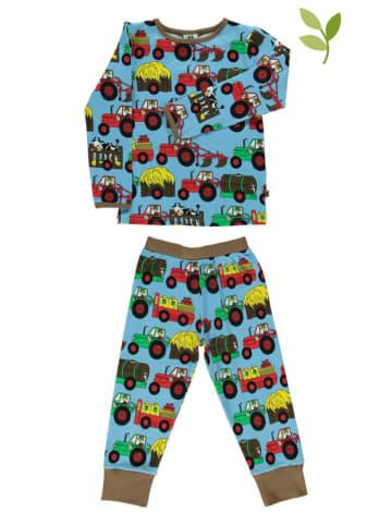 Småfolk Pyjama turquoise