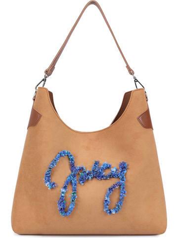 Juicy Couture Torebka w kolorze jasnobrązowym - 38 x 33 x 10 cm