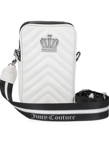 Juicy Couture Torebka w kolorze biało-czarnym - 13 x 20 x 5 cm