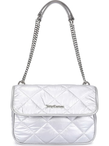 Juicy Couture Schultertasche in Silber - (B)25 x (H)18 x (T)8 cm