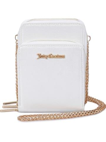 Juicy Couture Umhängetasche in Weiß - (B)15 x (H)20 x (T)7 cm