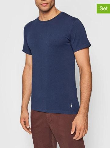 POLO RALPH LAUREN Koszulki (2 szt.) w kolorze granatowym