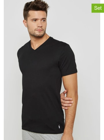 POLO RALPH LAUREN 2-delige set: shirts zwart