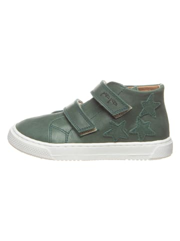 POM POM Leren sneakers groen