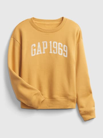 GAP Bluza w kolorze żółtym