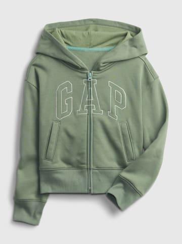 GAP Sweatvest groen