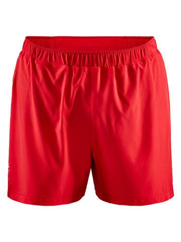 """Craft Szorty """"ADV Essence"""" w kolorze czerwonym do biegania"""