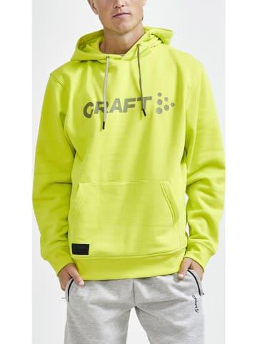 """Craft Bluza """"Core Craft"""" w kolorze żółtym"""