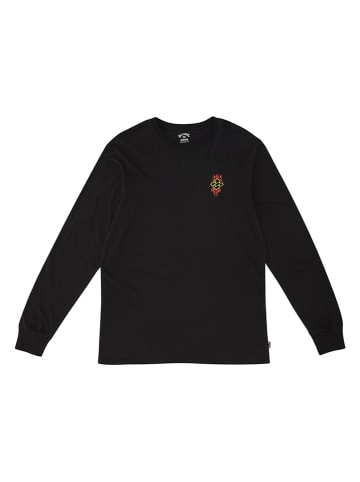 "Billabong Koszulka ""Past Love"" w kolorze czarnym"