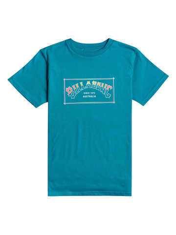 """Billabong Koszulka """"Arch"""" w kolorze turkusowym"""